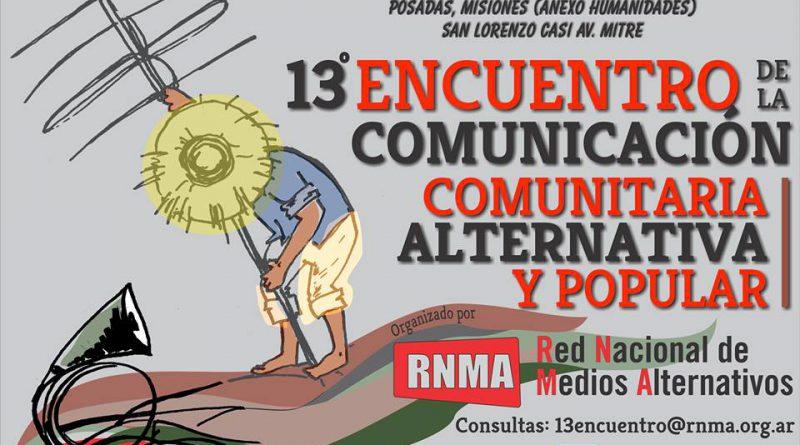 Misiones será sede del 13° Encuentro de la Red Nacional de Medios Alternativos