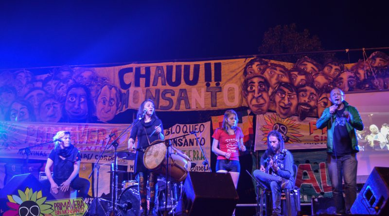 Festival Primavera Sin Monsanto 2016 - Vivi Pozzebón , Paola Bernal & Armando Flores