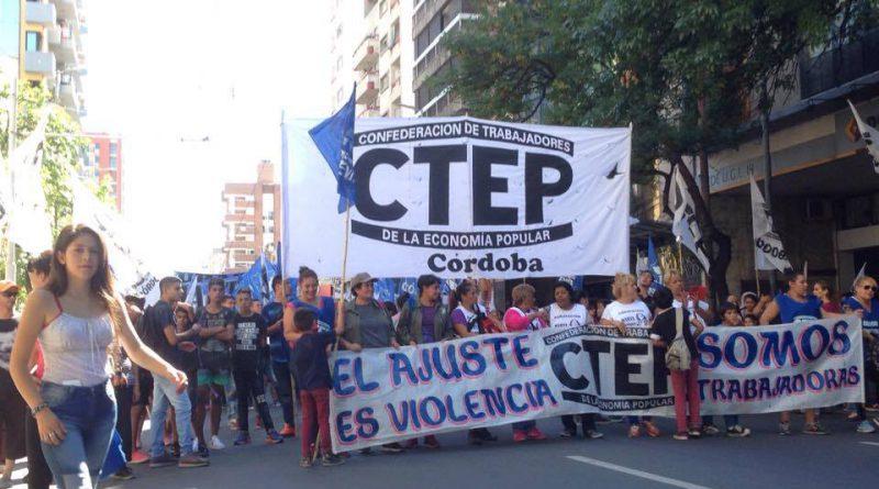 """CTEP y la emergencia social: """"en Córdoba ni la provincia ni la municipalidad tienen políticas reales"""""""