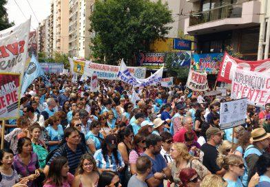 El paso de la Marcha Federal Educativa por Córdoba