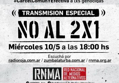TRANSMISIÓN ESPECIAL NO AL 2X1