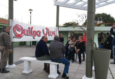 Marcha de las antorchas por lxs trabajadorxs de Quilpo
