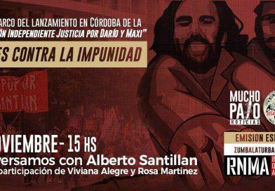 Se lanza en Córdoba la Comisión Independiente Justicia por Darío y Maxi