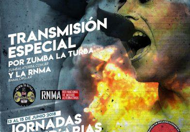 Jornadas Incendiarias: Maite Amaya presente en la lucha