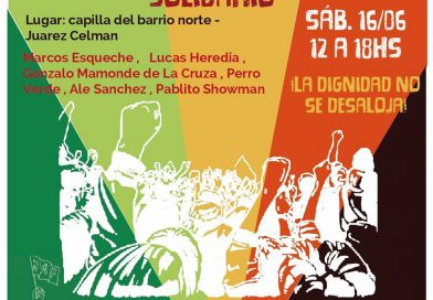 Cultura local solidaria con B° Parque Esperanza
