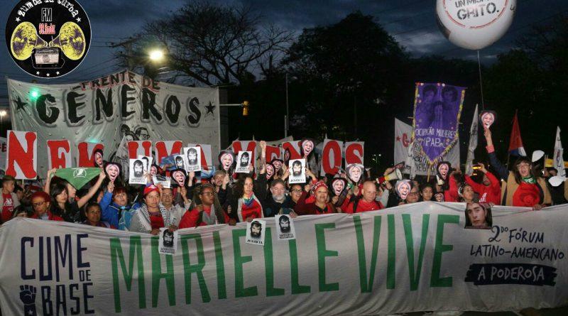 Cumbre de Base Poderosa en Porto Alegre: Marielle VIVE en el pueblo