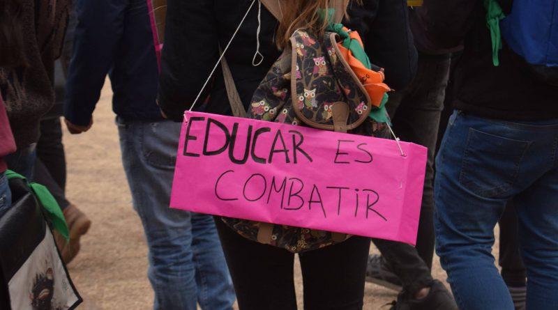 Asamblea Interfacultades en defensa de la Educación Pública.