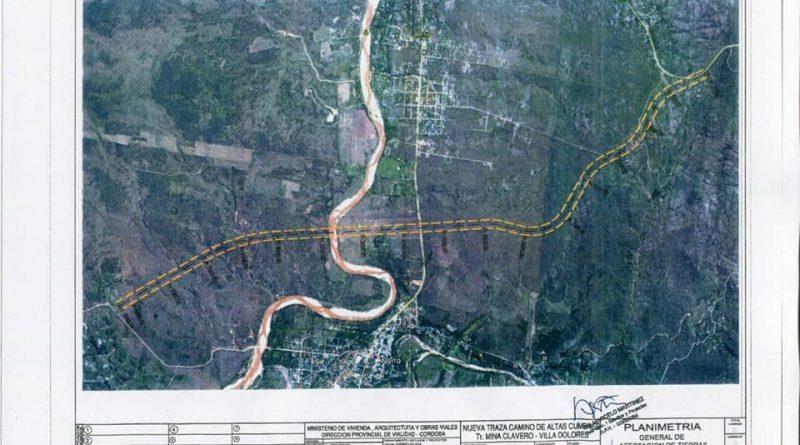 Alerta por un proyecto de autovía desde Mina Clavero a Villa Dolores