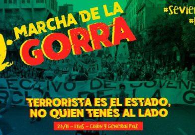 """12 Marcha de la Gorra: """"Luchar no es lo que está mal"""""""