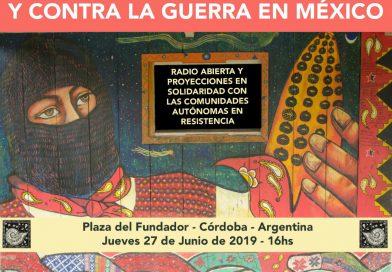 Jornada Global por la Vida y Contra la Guerra en México
