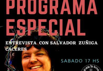 Las Revoluciones de Berta: diálogo con Salvador Zuñiga Caceres