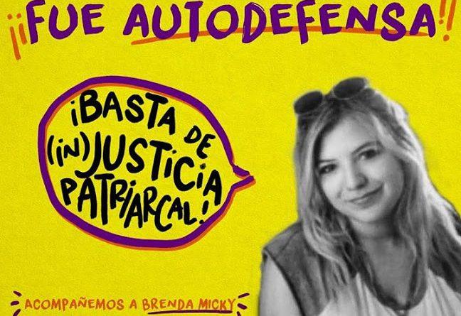 Micky Barattini: presa por defenderse