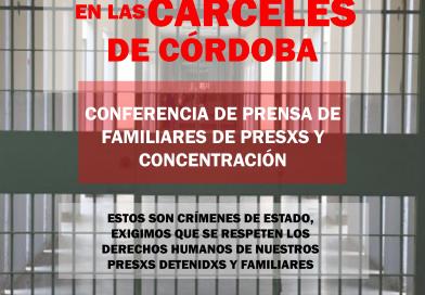 Basta de torturas y asesinatos en cárceles