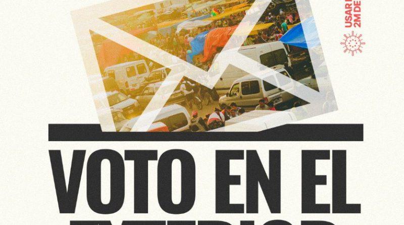 Elecciones en Bolivia/El derecho al voto de ciudadanxs en el extranjero