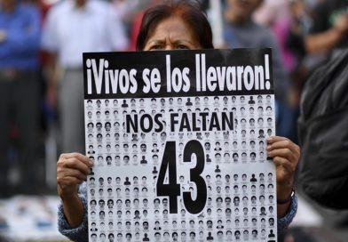 Aniversario de la desaparición de lxs 43 normalistas de Ayotzinapa